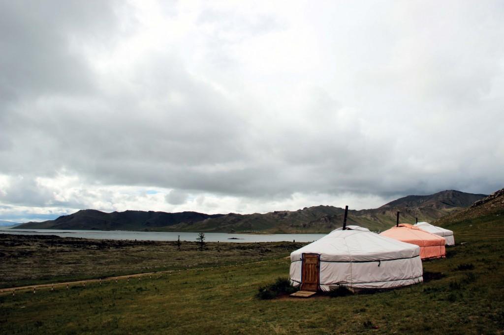 Basecamp at Tsagan Nuur