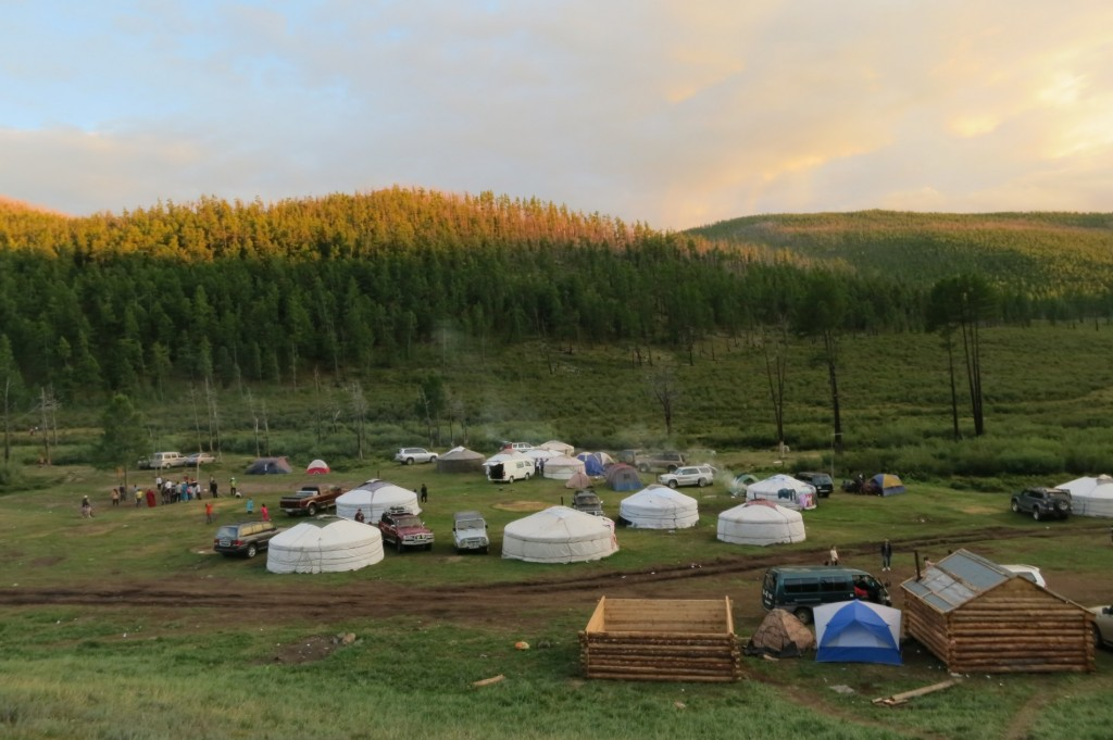 Campsite at the Arshan