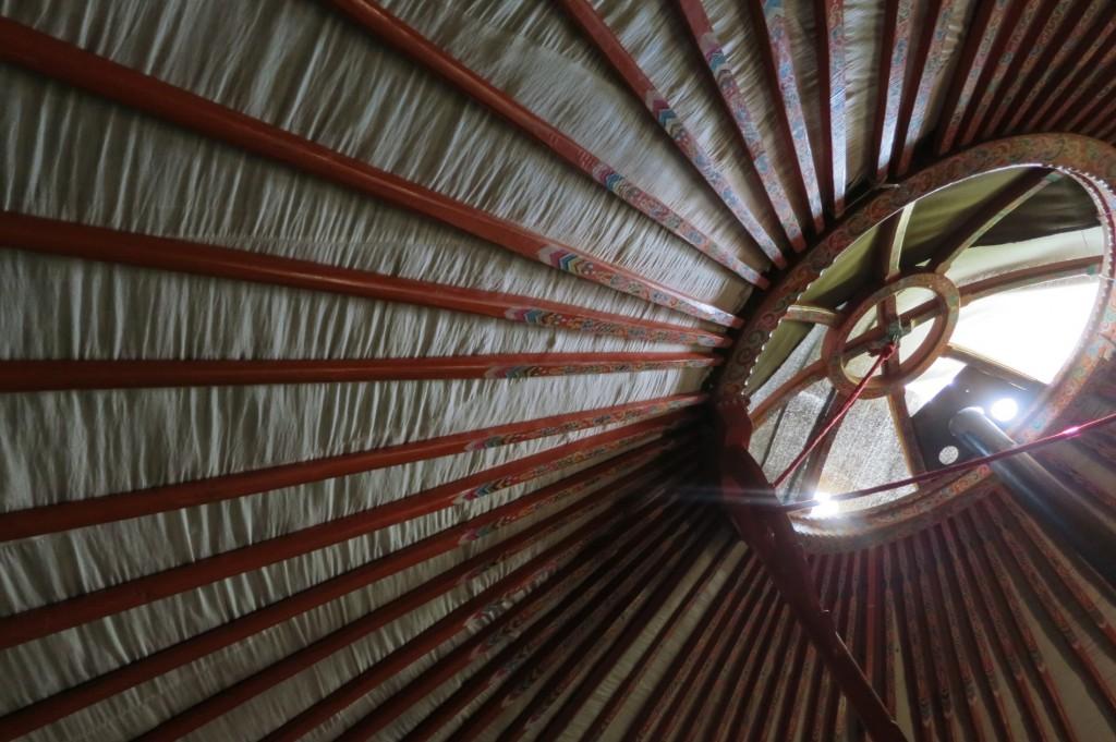 Inside the Ger