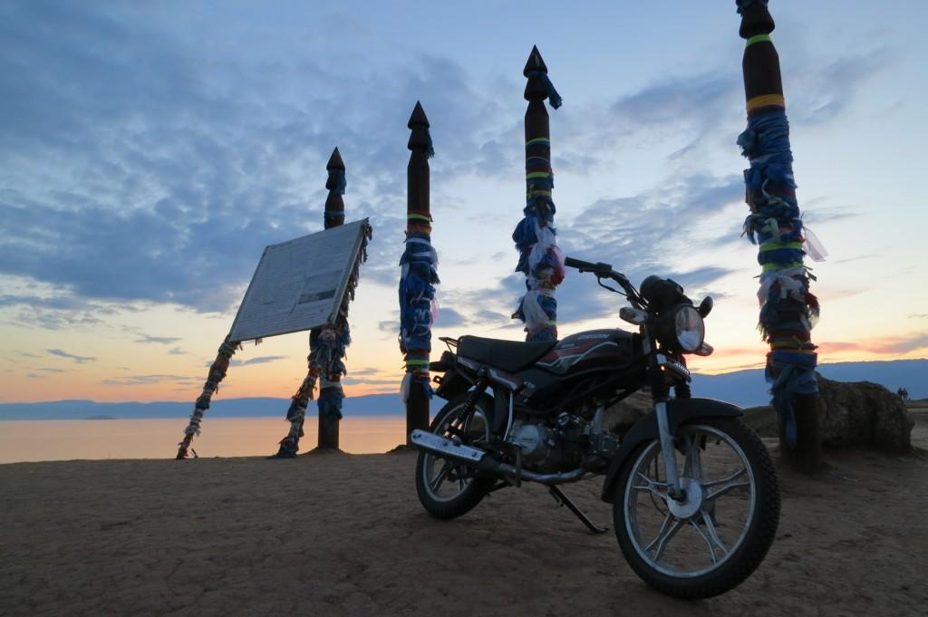 Motorbike in Chushir