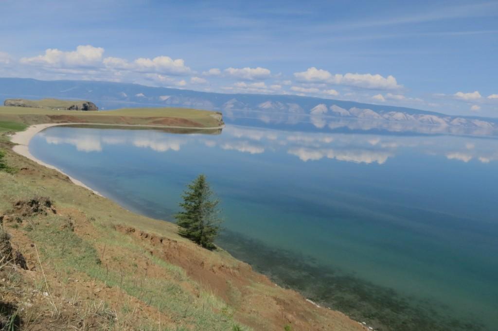Shore Lake Baikal