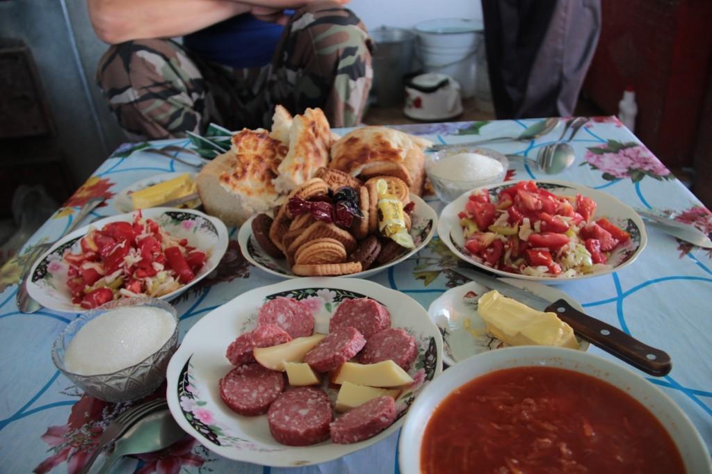 Kirgisische Gastfreundschaft