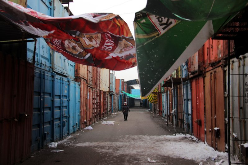 Container Alleys
