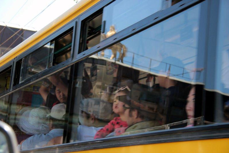 stuffed bus