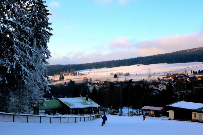 Aussicht vom Ochsenkopf-Nord