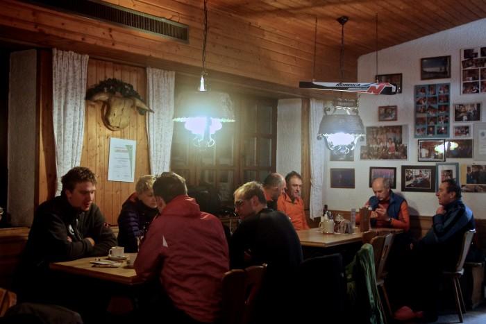 Skitouren-Stammtisch am Asenturm