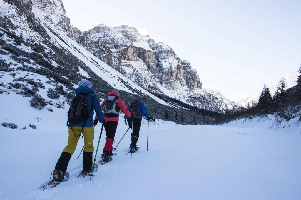 Schneeschuhwandern im Pinnistal