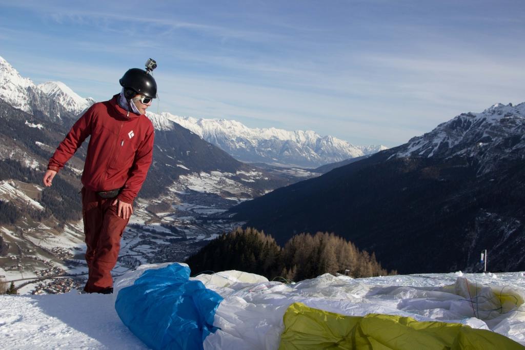 Paragliding mit GoPro