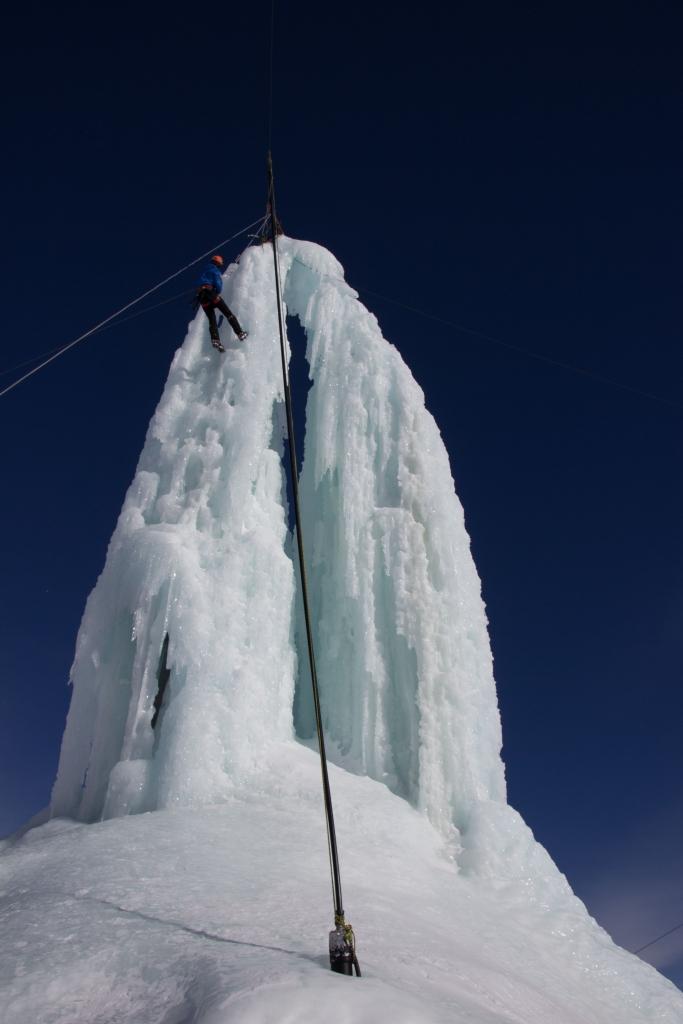 Eisturm am Stubaier Gletscher