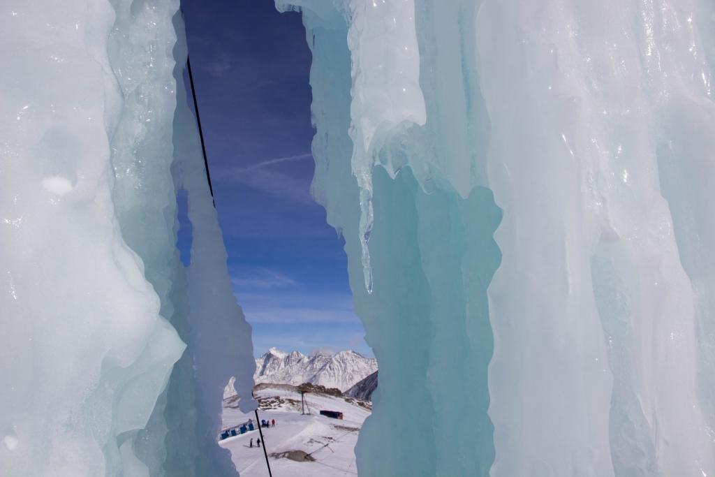 Eisturm Stubaier Gletscher
