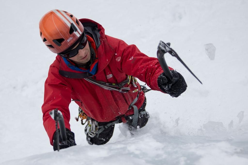 Bergführer und Eiskletterexperte Marco Span
