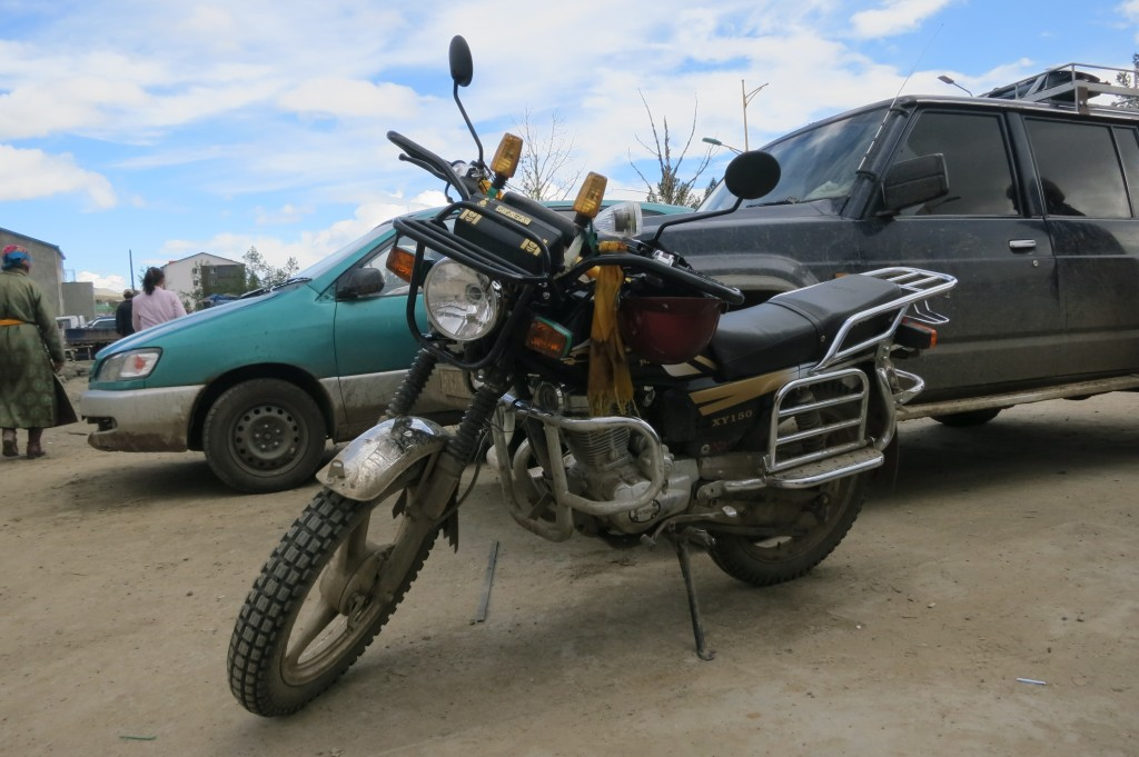 Bike in Tsetserleg