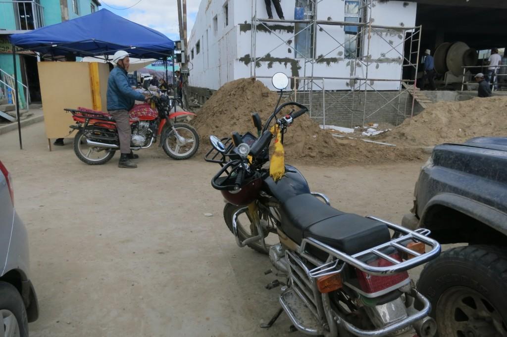 Bikes in Tsetserleg