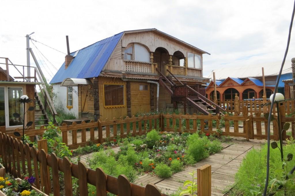 Inside Nikita's Hostel