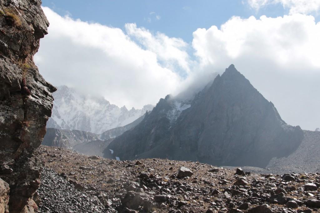 Berg Chok-Tal im Kemin-Gebiet