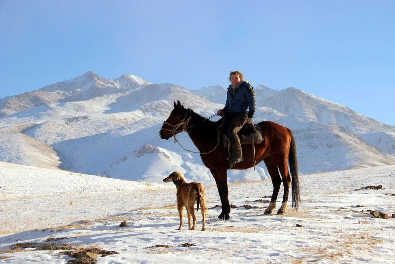 Adriane on Horse