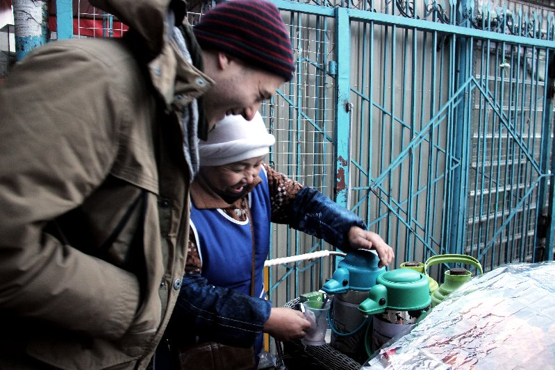 Buy some Chai from the Street Vendor