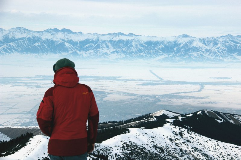 Skitour im Tienschan