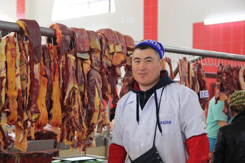 Man selling Meat