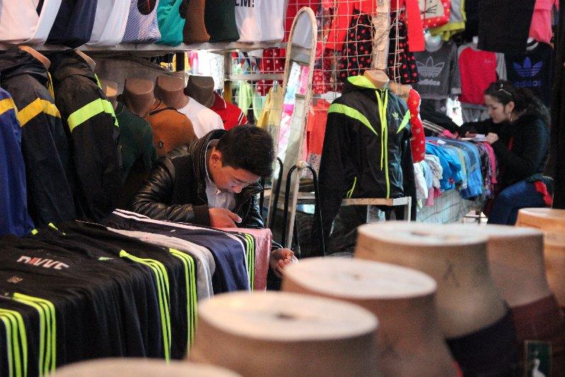 Vendor selling Clothes